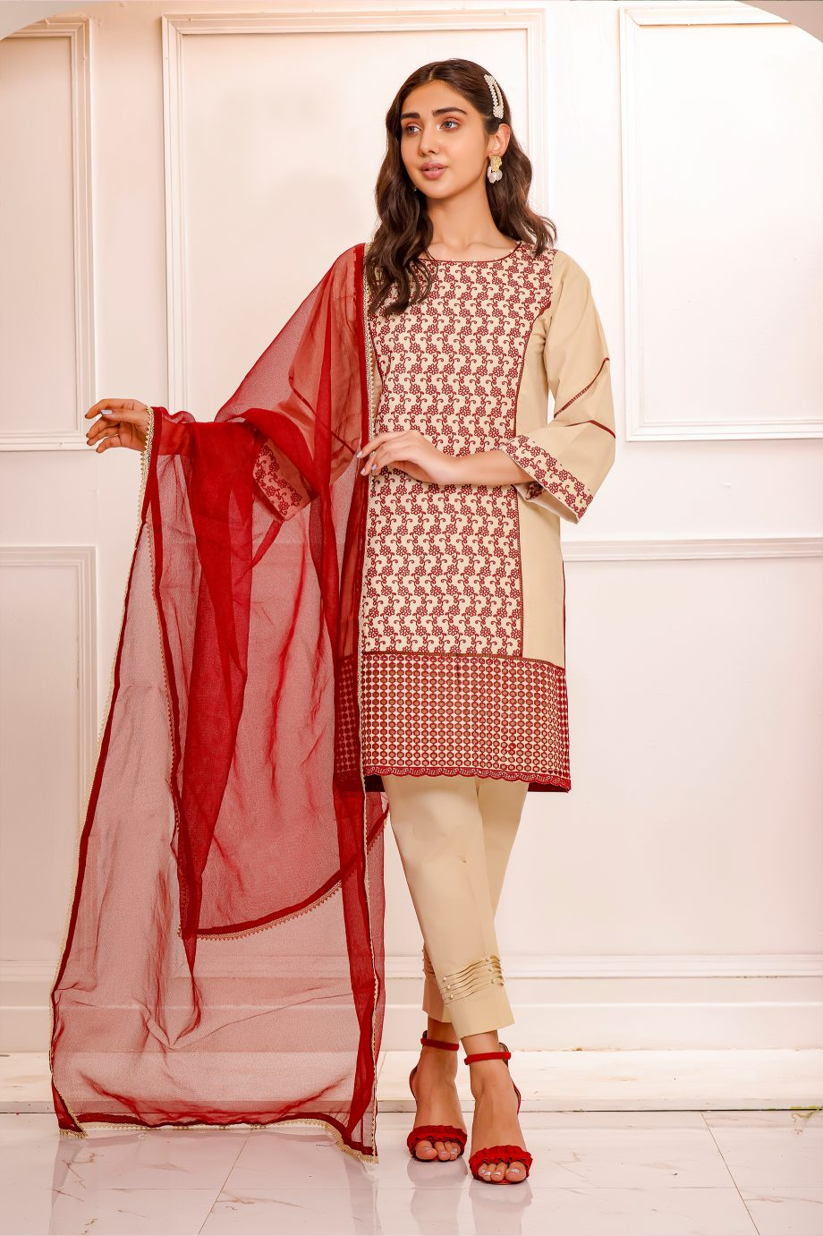 Embroidered Pret SPS-65